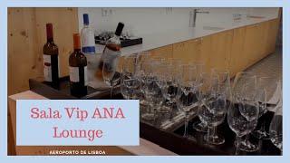 Sala Vip ANA Louge - aeroporto de Lisboa