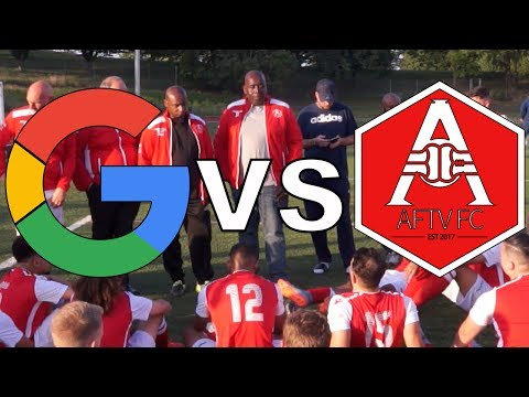 Google FC vs AFTV FC (The First Game) | Commentary by Troopz