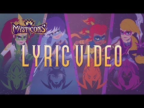 Mysticons Theme Song   Lyric Video   MUSIC
