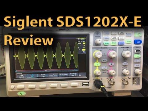 #218 Siglent SDS1202X-E Oscilloscope Review - Part 2