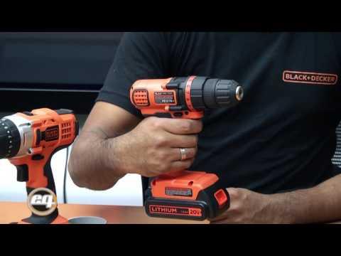 Black+decker: Lanzamiento de taladros atornilladores inalamábricos con batería de ION de lithio 1d2