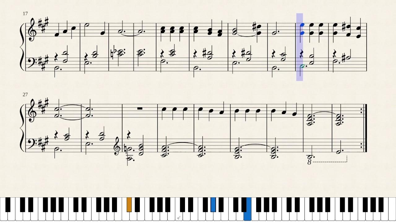 2AM - Animal Crossing : Wild World - Piano sheet music