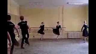 Народный танец. Станок.