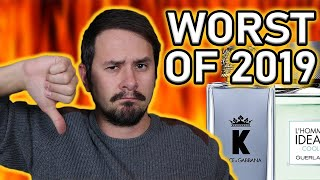 TOP 5 WORST MEN'S DESIGNER FRAGRANCES OF 2019   THE WORST OF THE WORST