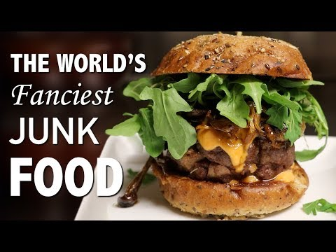 DIY WORLD'S FANCIEST BURGER ???? - VERSUS