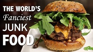 DIY WORLD'S FANCIEST BURGER 🍔 - VERSUS