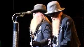 ZZ TOP Sharp Dressed Man Live Montreal 2012 HD 1080P