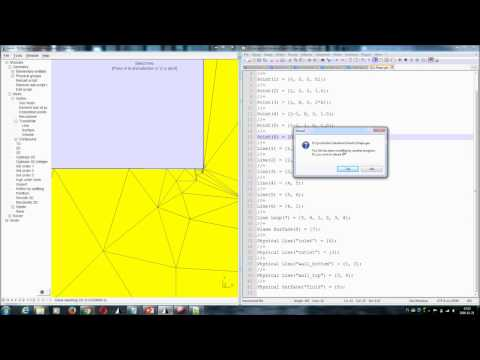 Gmsh Tutorial Part 3 - Scripting and Controlling Mesh Resolution