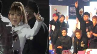 CL interacts with 2NE1 (2011 MAMA Where Is The Love)