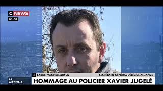 Plaque commémorative dédiée à Xavier Jugelé dégradée: écoeurement des policiers