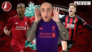 LFC TO GO TOP, CITY WILL BOTTLE IT! | Liverpool vs Bournemouth Preview