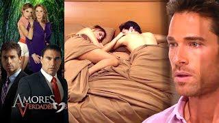 Amores Verdaderos: ¡Guzmán encuentra a Nikki con Roy en la cama! | Escena - C72