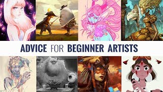 Gambar cover ADVICE FOR ARTISTS STARTING OUT - ART SIDE OF LIFE INTERVIEWS HIGHLIGHTS (EP.184)