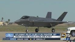 Student pilot flies F-35 at Luke Air Force Base