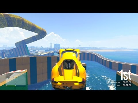 WATER PARK STUNTING! - GTA 5 Funny Moments #614