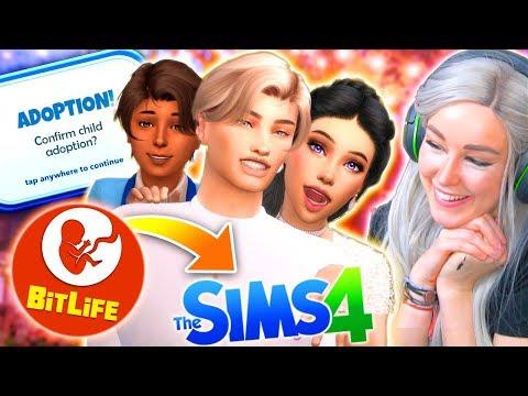 ADOPTION? 🤔 - Bitlife Controls My Sims! #8 😅