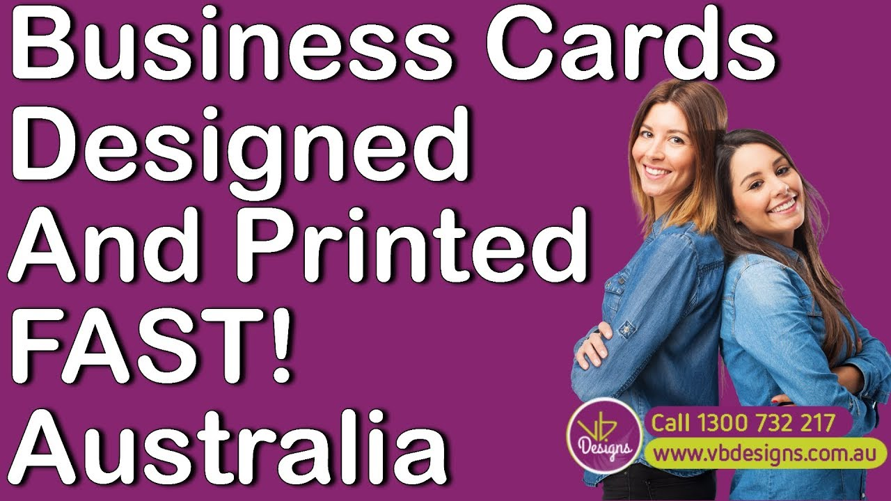 Business Cards Brisbane - Best Business Card Design and Printing ...