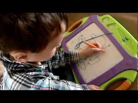 Amazing 4 year old artist!