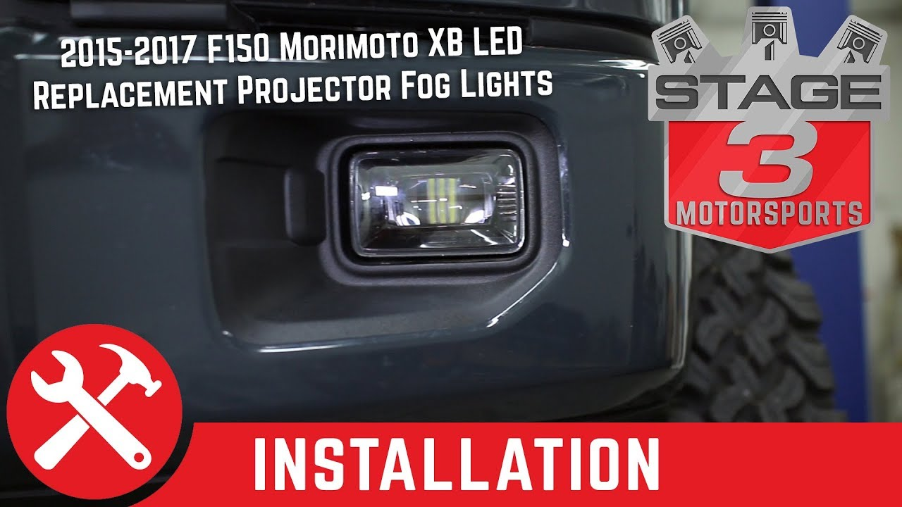 Led Replacement Headlight Bulbs >> 2015-2017 F150 Morimoto XB LED Replacement Projector Fog