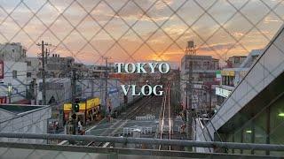 Vlog | 도쿄 유학생 브이로그 | 여름방학 보내기,…