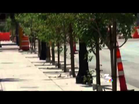Road Construction Project In Clogs Downtown Las Vegas
