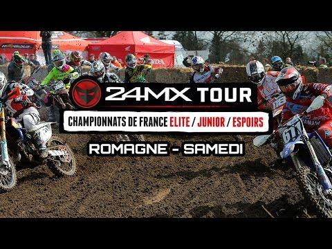 24 MX Tour - Romagné : Résumé Samedi