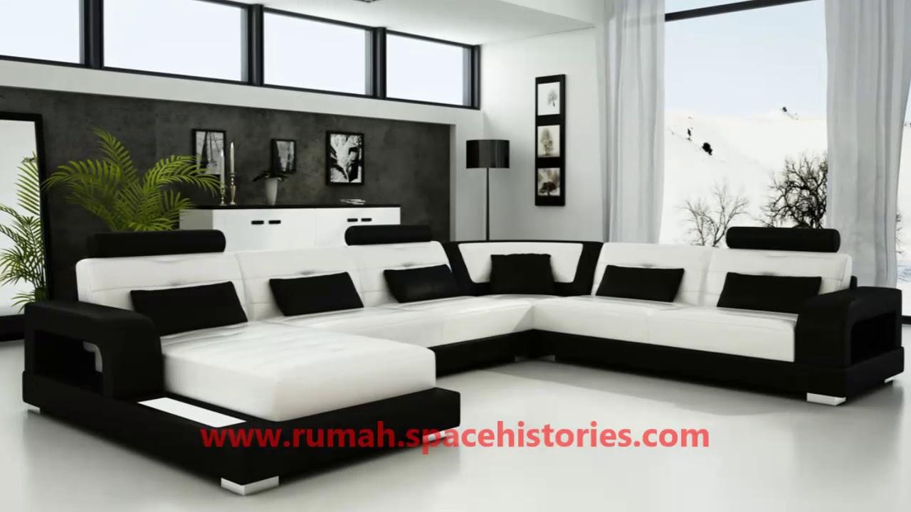 Gambar Dekorasi Interior Rumah Warna Hitam Putih Terbaru - YouTube