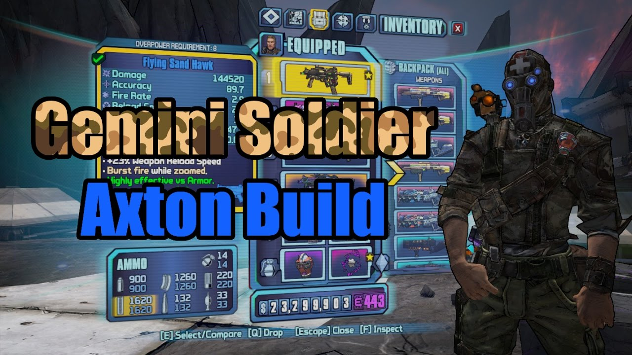 Borderlands 2: Gemini Soldier - Build Showcase