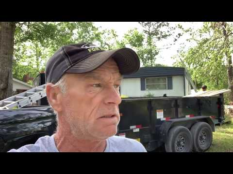 How to repair your mobile home trailer roof DIY coming FRI
