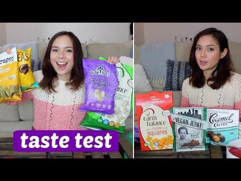 Taste Test // Vegan Cheese Snacks, Meatless Jerky, Chocolate & More