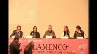 """II Congreso Internacional del Flamenco.Mesa Redonda """"El mundo en el flamenco"""""""