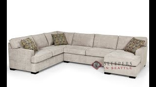 Sectional Sofa with Queen Sleeper,