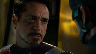 Тони Старк узнает, кто убил его родителей. Первый Мститель: Противостояние (2016)