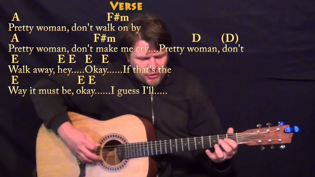 Roy Orbison - Oh Pretty Woman (Chords)