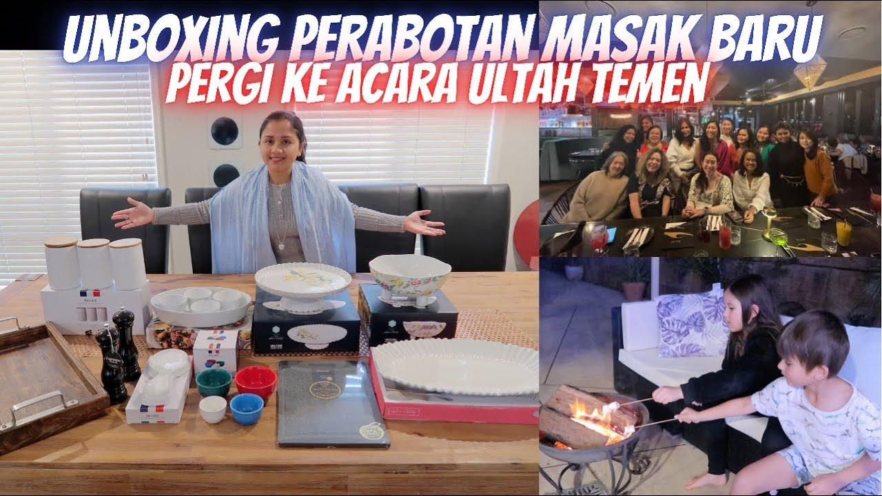UNBOXING PERABOTAN MASAK BARU | PERGI KE ACARA ULTAH TEMEN