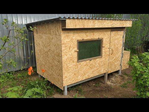 Строительство курятника в домашних условиях