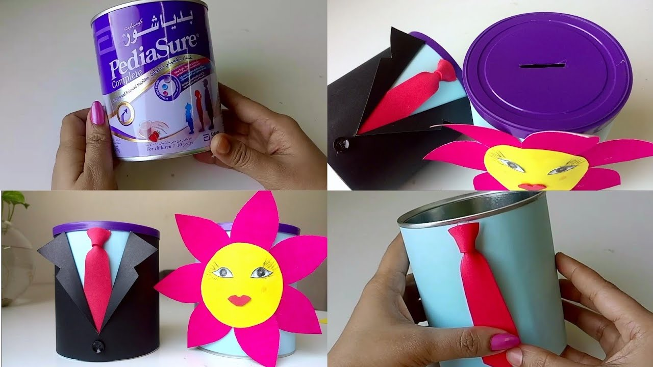 Diy Coin Box Money Saving Box For Kids Best Out Of Waste Ideas