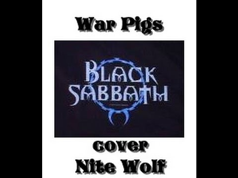War Pigs Black Sabbath Cover Music Video