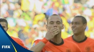 Sneijder gives Samurai the kiss off