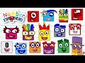 New Numberblocks 1, 2, 3, 4, 5, 6, 7, 8, 9 and 10 to 100 | Number blocks 100 count Fun House Toys