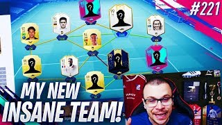 FIFA 19 I BUILT A NEW INSANE SQUAD FOR FUT CHAMPIONS! THIS IS A TOP 100 IN THE WORLD TEAM!