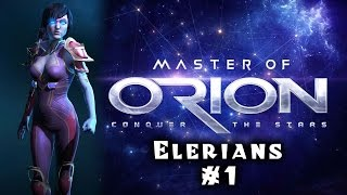 Let's Play: Master of Orion - Revenge of Antares / Elerians - Ep 1