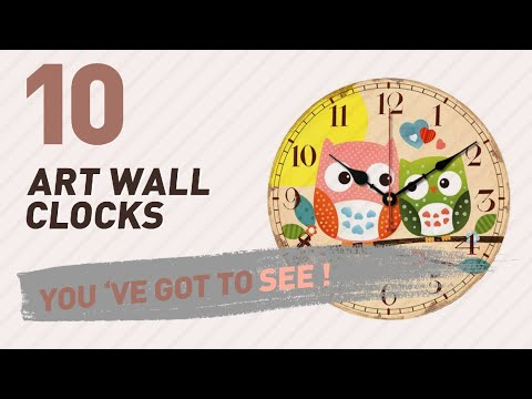Art Wall Clocks // New & Popular 2017