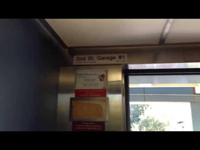 (Unknown Brand) Hydraulic Scenic Elevator At U Of A Memorial Union Parking Garage - Tucson, Arizona