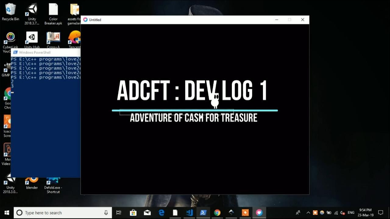 ADCFT - Love2d Platformer - Dev Log 01
