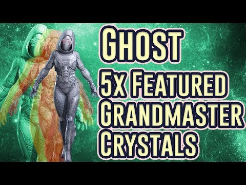 5x Ghost Featured Grandmaster Crystal Opening | Marvel Contest of Champions
