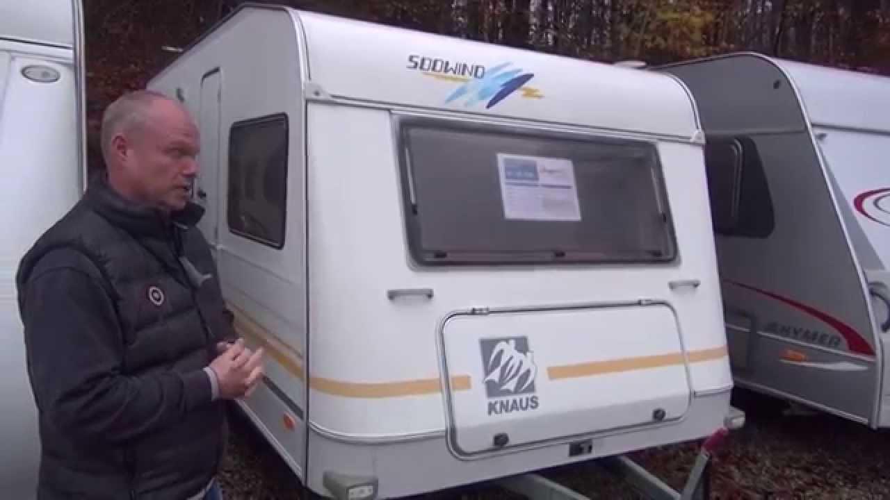 Knaus Südwind 475 1997 - Campingvogn - YouTube