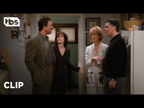 Friends: Monica's Parents Find Out About Her & Dr. Burke (Season 2 Clip) | TBS