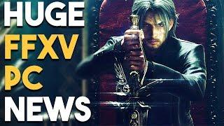 HUGE Final Fantasy XV PC NEWS and CRYPTO FALLS