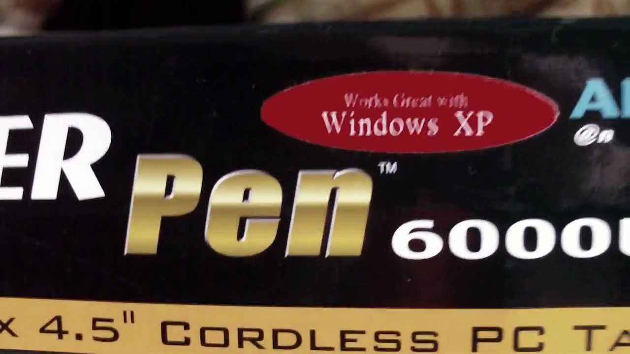 Aiptek HyperPen 6000 Windows 8